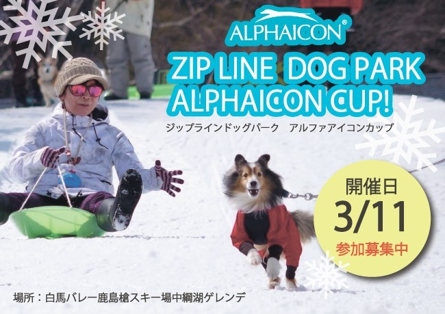 ZIP LINE DOGPARK  ALPHAICONCUP <終了致しました>